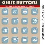 home applicances simply symbols ... | Shutterstock .eps vector #429753409