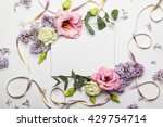 festive invitation card with... | Shutterstock . vector #429754714