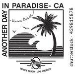 california west coast.... | Shutterstock .eps vector #429815878