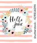 Cute Summer Floral Card...