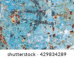 blue wallpaint texture with... | Shutterstock . vector #429834289