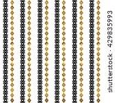 tribal geometric gold pattern.... | Shutterstock .eps vector #429835993