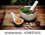 alternative health care fresh... | Shutterstock . vector #429837610