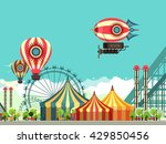 vector illustration carnival... | Shutterstock .eps vector #429850456