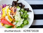 healthy eating   and cooking... | Shutterstock . vector #429873028