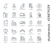 set vector line icons with open ... | Shutterstock .eps vector #429879259