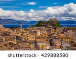 View Of Corfu Old Town  Greece