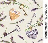 Vintage Background   Lavender...