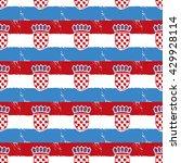pattern for football... | Shutterstock .eps vector #429928114