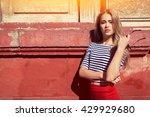 city girl | Shutterstock . vector #429929680