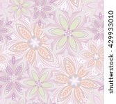 flower pattern | Shutterstock .eps vector #429933010
