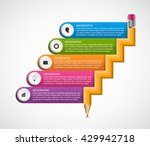 education abstract options... | Shutterstock .eps vector #429942718
