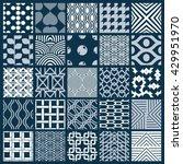 vector graphic vintage textures ... | Shutterstock .eps vector #429951970
