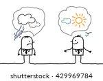 cartoon businessmen  ... | Shutterstock .eps vector #429969784
