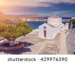 Antique Small Church In The...