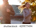 fitness  sport  people and... | Shutterstock . vector #429977494