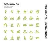 environment   ecology outline... | Shutterstock .eps vector #429986503