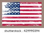 grunge american flag.vector... | Shutterstock .eps vector #429990394