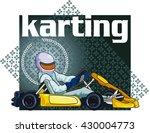 karting background   Shutterstock .eps vector #430004773