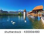 historic city center of lucerne ...   Shutterstock . vector #430006480
