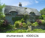 Typical English Rural Cottage...