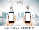 Online Money Transfer Concept...
