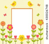 Vector Postcard Frame On The...
