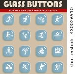 sport web icons for user...   Shutterstock .eps vector #430026910