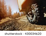 4x4 car concept with big... | Shutterstock . vector #430034620
