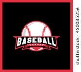modern professional logo for a... | Shutterstock .eps vector #430035256
