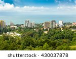 view of the resort sochi from a ... | Shutterstock . vector #430037878