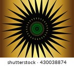 fractal abstract pattern of...   Shutterstock .eps vector #430038874