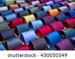 Colorful Tie Collection In The...