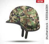 military modern camouflage... | Shutterstock .eps vector #430066084