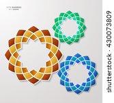 Infographic Design Of 3d Round...