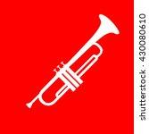 musical instrument trumpet sign | Shutterstock .eps vector #430080610