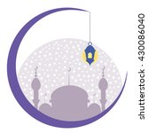 ramadan graphic vector. | Shutterstock .eps vector #430086040