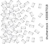 vector illustration of halftone ... | Shutterstock .eps vector #430087018