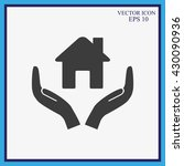 house vector icon  | Shutterstock .eps vector #430090936