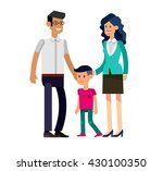 detailed character people... | Shutterstock .eps vector #430100350