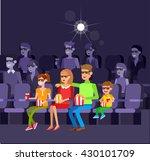 family movie poster or banner... | Shutterstock .eps vector #430101709