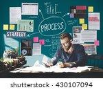 process action activity... | Shutterstock . vector #430107094