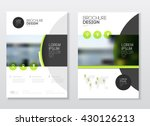 brochure cover design layout... | Shutterstock .eps vector #430126213