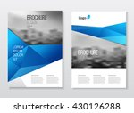 catalogue cover design. annual... | Shutterstock .eps vector #430126288