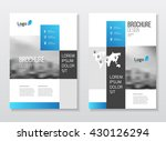 catalogue cover design. annual... | Shutterstock .eps vector #430126294