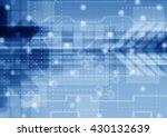 blue futuristic science... | Shutterstock . vector #430132639