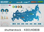 russian federation... | Shutterstock .eps vector #430140808
