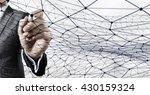 social interaction concept | Shutterstock . vector #430159324