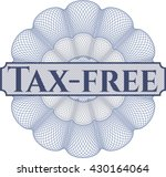 tax free money style rosette