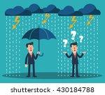 happy businessman standing with ...   Shutterstock .eps vector #430184788